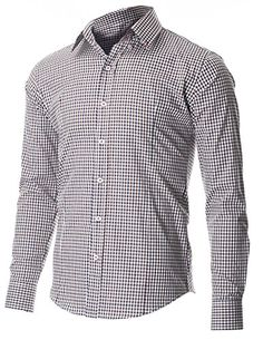 FLATSEVEN Men's Two Color Plaid Check Button Down Casual Shirt (SH617) Brown, M FLATSEVEN http://www.amazon.com/dp/B00P51YB72/ref=cm_sw_r_pi_dp_E.Vvub160YJZC