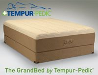 The Tempur-Pedic GrandBed. We absolutely love ours!