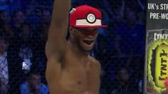 UFC Fighter beats guy Then throws Pokeball to capture him.. WTF is going on?