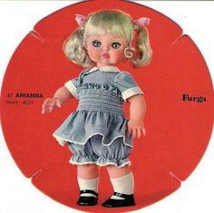 Arianna furga 47cm catalogo dolly do