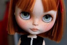 Eyechips for Blythe dolls Gray realistic por NatMDolls en Etsy
