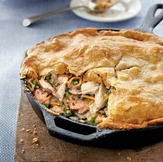 Skillet Chicken Pot Pie: Comfort Food For the Soul : Chic Galleria
