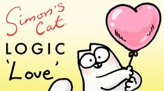 Simon's Cat Logic Explores the Topic of Cat Romance Just in Time for Valentine's Day
