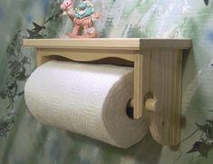 Counius Portarollos Papel Higienico Madera Vintage Creatividad Montado en la Pared Sujetador de Papel Toallero con 4 Gancho de Madera Maciza,para Ba/ño y Inodoro Accesorio Rollo de Papel