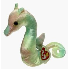 Ty Beanie Babies - Neon the Ty-Dyed Seahorse $5 (noah)