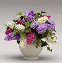 Puppenhaus Miniatur Wandbehang Korb Clay Blumen Pflanze Garten Accss Puppenstuben & -häuser