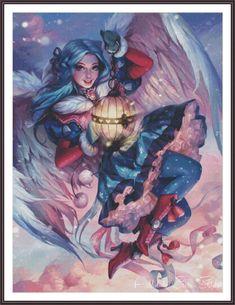 Fantasy Cross Stitch  Counted Cross Stitch by Addict2CrossStitch