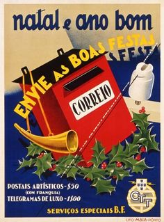 ctt                                                                                                                                                                                 Mais Retro Advertising, Retro Ads, Vintage Advertisements, Vintage Ads, Vintage Prints, Vintage Travel Posters, Vintage Postcards, Portugal, Old Scool