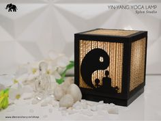 Create a peaceful setting at your home by purchasing the Ying Yang Yoga Lamp by ‪#‎DecorStory‬ available on www.decorstory.in
