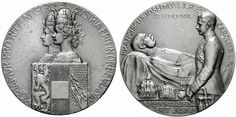 Franz Joseph I (1830-1916), Medal 1916, by Anton Weinberger, death of the Emperor.