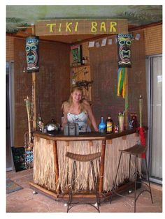 Tiki bar style thatching runner 30 x 17 feet natural 69 for How to build your own bar cheap