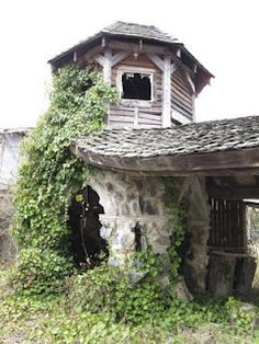Abandoned Ren Fair. What an eerie and magical place to explore. Virginia Renaissance Faire