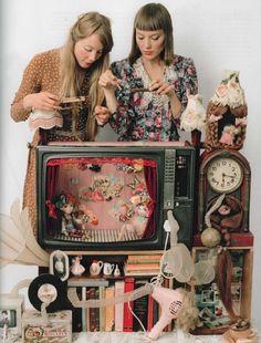 Frida Alvinzi and Raisa Veikkola's Little Theatre of Dolls. Craft Magazine 2010.