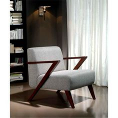 Sillón de Diseño Moderno Bolonia #Ambar #Muebles #Deco #Interiorismo #Tapizados | http://www.ambar-muebles.com/sillon-de-dise-o-moderno-bolonia.html