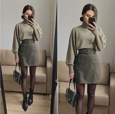 Winter Fashion Outfits, Fall Winter Outfits, Look Fashion, Korean Fashion, Autumn Fashion, Luxury Fashion, Mode Outfits, Office Outfits, Stylish Outfits