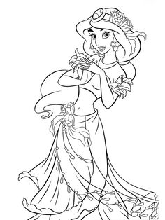 Disney Princess Jasmine Coloring Pages to Print . Disney Princess Jasmine Coloring Pages to Print . Disney Jasmine Coloring Pages Rapunzel Coloring Pages, Belle Coloring Pages, Free Disney Coloring Pages, Mermaid Coloring Pages, Cartoon Coloring Pages, Mandala Coloring Pages, Colouring Pages, Coloring Books, Adult Coloring Pages