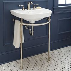 white washstand console - $1,700 - ouch