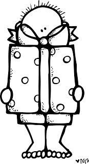 Melonheadz Illustrating Todays Freebie Kathryn Janeway Black White Clip Art Digi Stamps