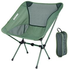 Ultralight Folding Camping Chair Backpack Stool Compact Lightweight Bag For Fishing Travel Hiking Beach Furniture