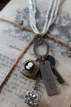 Time Capsule Necklace by HaveFaithDesigns on Etsy
