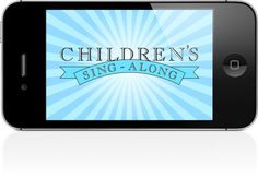 SINGING TIME IDEA: Love this app super great for teaching primary songs to you kids they love singing with it!