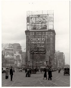 1921 Times Square NYC