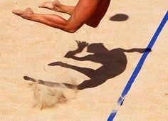 volley #beach #volleyball #jump jstreet