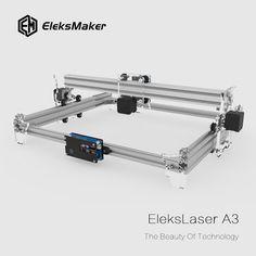 EleksMaker® EleksLaser-A3 Pro 2500mW Laser Engraving Machine CNC Laser Printer Sale - Banggood.com