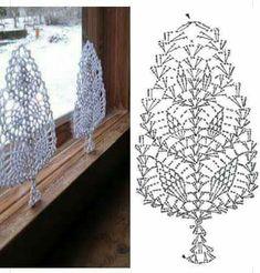 Witam:) To co wczoraj zobaczyłam na swojej tablicy na FB S Crochet Snowflake Pattern, Crochet Leaves, Crochet Motifs, Crochet Snowflakes, Doily Patterns, Crochet Chart, Thread Crochet, Filet Crochet, Crochet Doilies