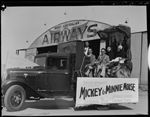 015667PD: Mickey Mouse arrival, c1935