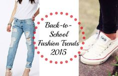 Back-to-School Fashion Trends 2015 Unfortunately it's that time when I have to start blogging about back-to-school topics (UGH!), but it's always a necessity to know which trends to rock once school starts up again. Your style is YOUR style, but incorporating different trends into it can be fun!Shoes are always a fun way to spr...  Read More at http://www.chelseacrockett.com/wp/fashion/back-to-school-fashion-trends-2015/.  Tags: #2015, #Backtoschool, #Clothes, #Fashi
