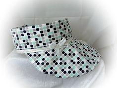 Schirmmützen - ✂ Schirmmütze✂Sonnenschutz ✂ Strandhut ✂ Stirnband - ein Designerstück von ULeMo bei DaWanda