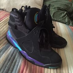 07bcb557222 Shop Women's Jordan Black Purple size 11 Sneakers at a discounted price at  Poshmark.