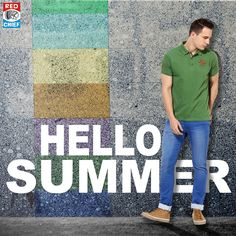 The best color in the world is the one that suits you best... Find your summer color among the wide variety at #RedChief #SummerCollection #2K17 #HelloSummer