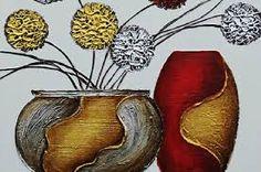 telas a oleo flores modernas - Pesquisa Google