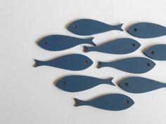 Ten Little Fish  Nautical Nursery   Beach by TheSeasideKids, $15.00