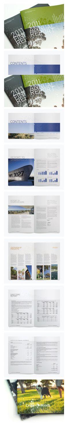Annual Report :: Cedar Woods