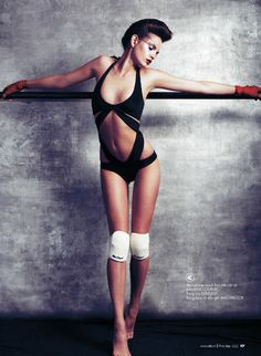 Regina Feoktistova for Elle Vietnam July 2012 by Stockton Johnson