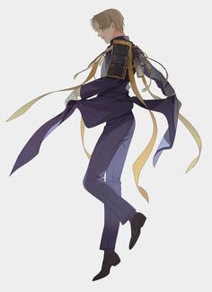 1607-084 Manga Boy, Manga Anime, Character Art, Character Design, Manga Poses, Samurai Swords, Handsome Anime, Visual Development, Touken Ranbu