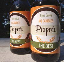 Disfrutando mediterráneamente ¿Qué tal una cerveza de Papá bien fresquita? Descubre más ideas en nuestra web Comotinta.com