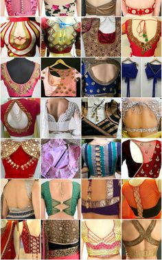 Latest blouse back neck designs Ck neck blouse. Ouse back neck. Blouse Back Neck Designs, Simple Blouse Designs, Neck Designs For Suits, Stylish Blouse Design, Bridal Blouse Designs, Latest Blouse Neck Designs, Netted Blouse Designs, Blouse Designs Catalogue, Sleeves Designs For Dresses