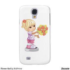 Flower Girl Samsung Galaxy S4 Cases