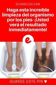 Limpieza del organismo   Haga esta increíble limpieza del organismo por los pies- ¡Usted verá el resultado inmediatamente!   Existen métodos naturales que pueden ayudar a desintoxicar su cuerpo y fortalecer su inmunidad. ¡Este es uno de ellos! Aprenda aquí.