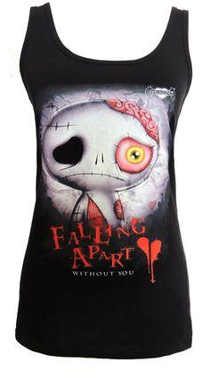 Frightlings Limbo Ladies Sleeveless Vest Top