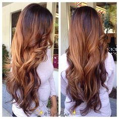 Wow - its like an ombre or balayage but different?