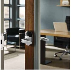 Wireless electronic locks complete the offering by delivering all of the access control system hardware components required at the door in a single integrated design. Access Control, Control System, Hardware Components, Electronic Lock, Locks, Storage, Design, Home Decor, Purse Storage