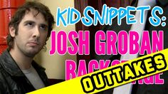 Josh Groban Backstage (Outtakes) one of the funniest things ever!!