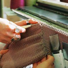 Seamless Machine Knitting - my grandmother had this machine...I wish I had learned how to use it :(
