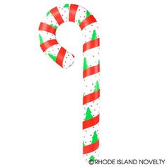 A sweet decoration for your next Christmas party! This Candy Cane Inflate is perfect for decoration or hanging up around the house for the Holidays!  #candycane #inflate #partyplanning #Christmas #holidays