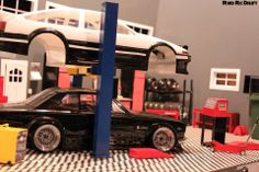 Sweet scale 1/10 JDM garage!!! #RC #Drift #Garage